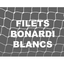 """Bonardi Filet baguage oiseaux """"110/2"""" (maille 16mm) Blanc - 3 mètres"""