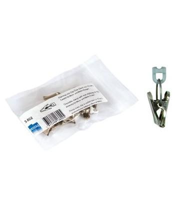 Pince avec clip à oeillet Pesola (x10) - Pour gamme micro & medio