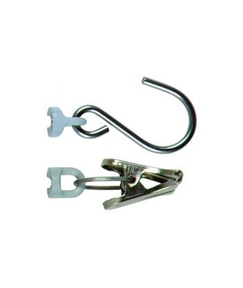 Pince & Crochet avec clip à œillet Pesola - Pour gamme Micro & Medio