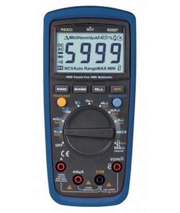 REED R5007 Multimètre numérique v.e.v.