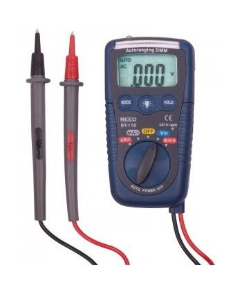 REED R5009 Multimètre avec NCV et lampe de poche, 3-en-1