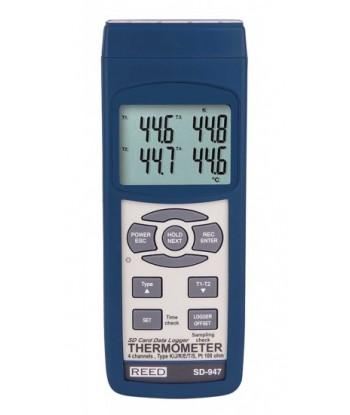 REED SD-947 Thermomètre thermocouple