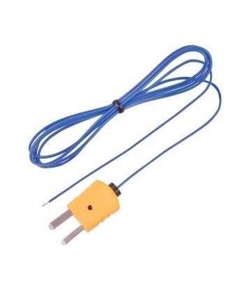 REED TP-01 Sonde à fil thermocouple perlé, type K
