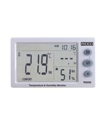 REED R6000 Indicateur de température et d'humidité
