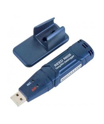 REED R6020 Enregistreur de données USB de température et d'humidité