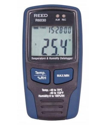 REED R6030 Enregistreur de données de température et d'humidité