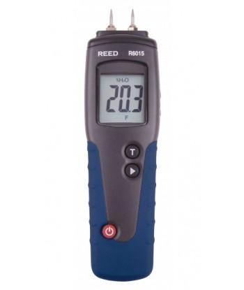 REED R6015 Humidimètre pour bois. Mesure l'humidité dans le bois.