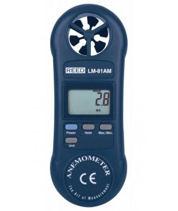 REED LM-81AM Anémomètre à hélice compact