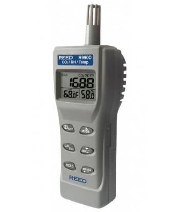 REED R9900 Compteur de la qualité de l'air intérieur